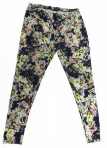 Używane spodnie w kwiaty