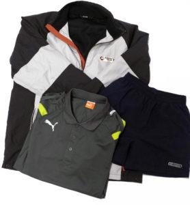Sportowa odzież używana