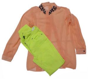 Łososiowa koszula