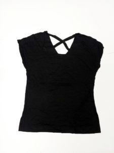 Czarna bluzeczka dla kobiety