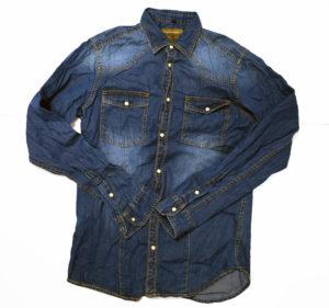Koszula jeansowa od importera odzieży używanej