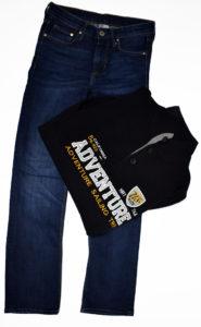 Spodnie i bluza od importera odzieży używanej