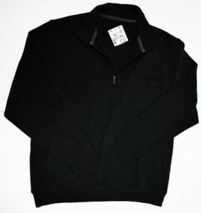 Czarna męska bluza używana