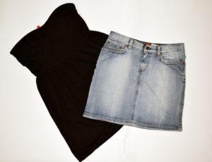 Spódniczki z odzieży używanej
