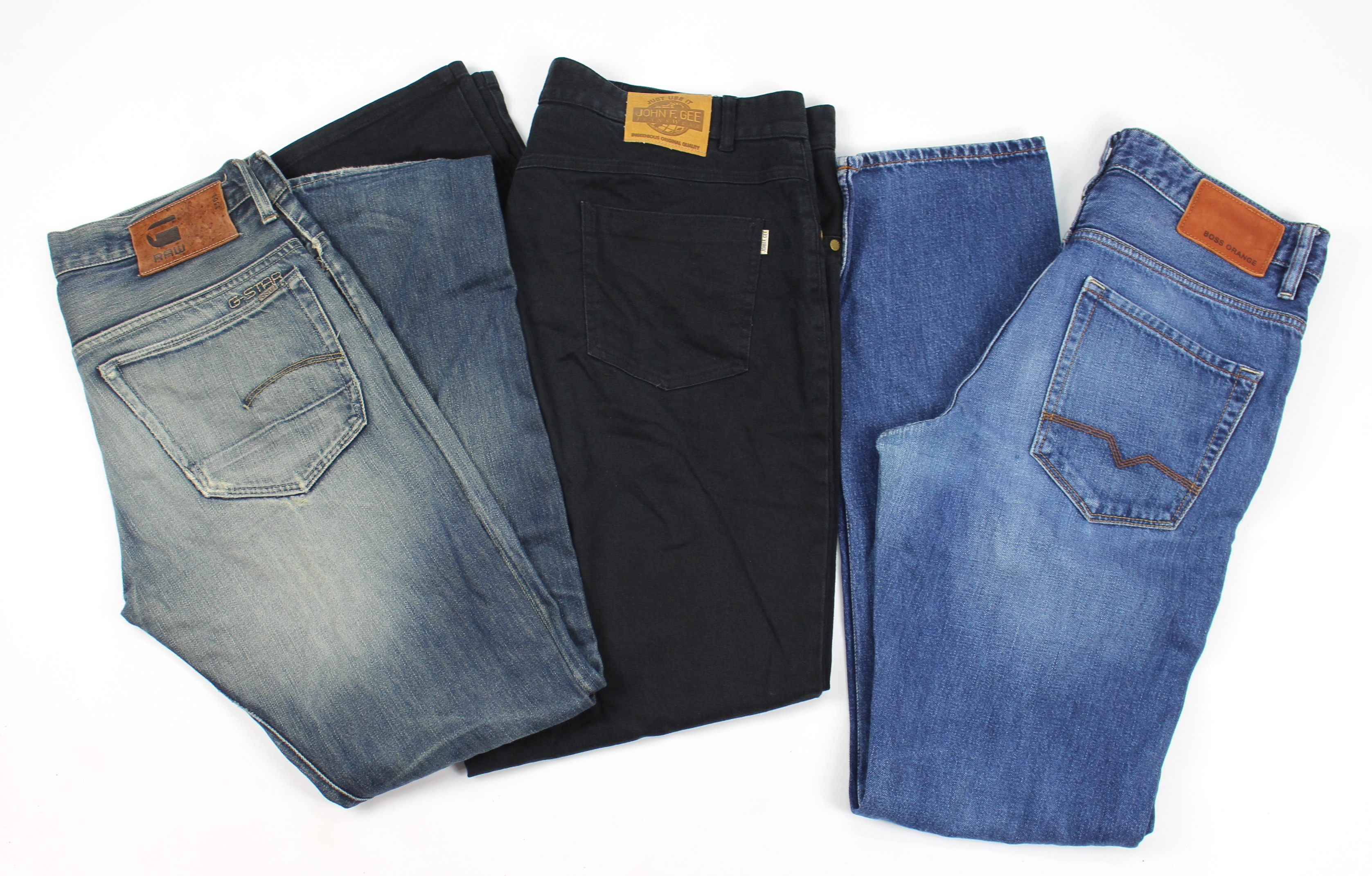 Spodnie męskie jeans